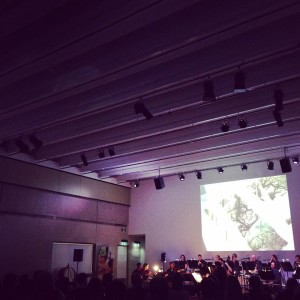 live shot from Trichotomy & QSO concert - the edge